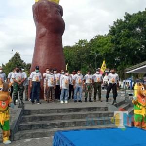 """Launching """"Si Rancak"""", Maskot Porprov 2022 Angkat Kearifan Lokal Lumajang"""