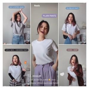 Tips Styling White T-Shirt untuk 5 Gaya Berbeda, Siap Sambut Weekend Kalian Nih!