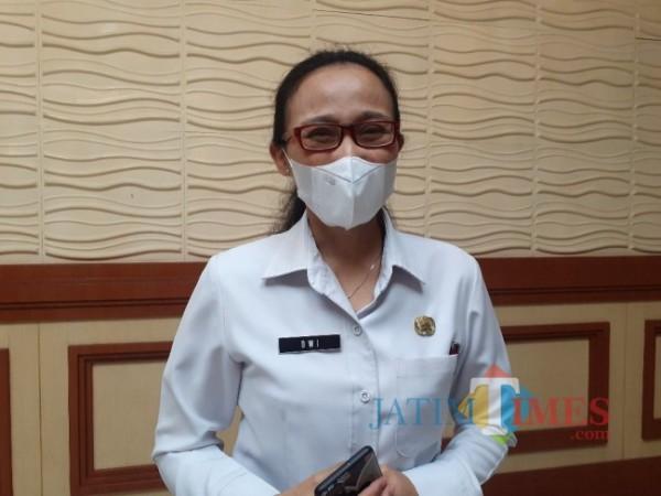 Kepala Bappeda Kota Malang, Dwi Rahayu. (Arifina Cahyanti Firdausi/MalangTIMES).).