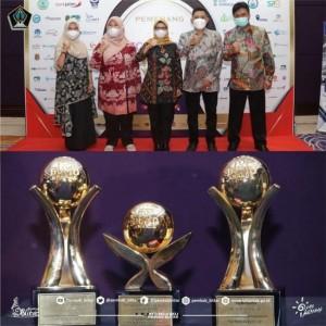 PDAM Tirta Penataran Sabet 3 Penghargaan di TOP BUMD Award, Bupati Blitar Raih TOP Pembina