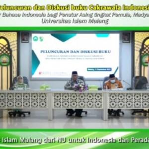 P2BA BIPA Unisma Luncurkan Buku Cakrawala Indonesia