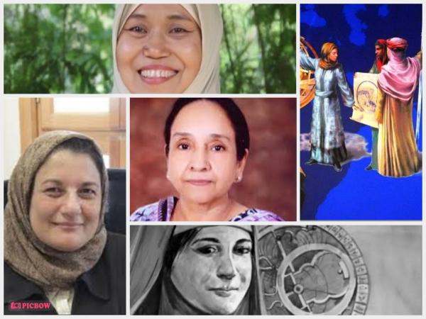 Sederet tokoh perempuan muslim berpengaruh untuk perkembangan ilmu pengetahuan di dunia (Foto Kolase: Berbagai sumber).