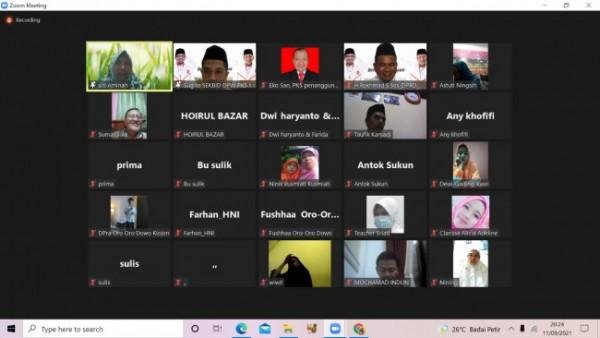 Dewan Pimpinan Daerah Partai Keadilan Sejahtera (DPD PKS) Kota Malang, menggelar Webinar Pelayanan Masyarakat(Ist)