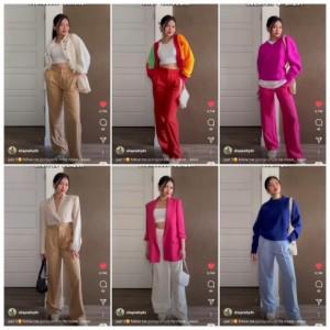 Tips Tampil Modis dengan Trousers, Dari Netral hingga Berwarna yang Bisa untuk Daily Outfit