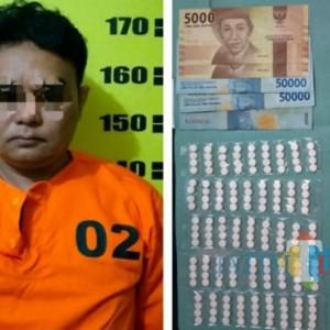Nongkrong di Warkop, Pedagang di Tulungagung Ditangkap Polisi Gegara Ini