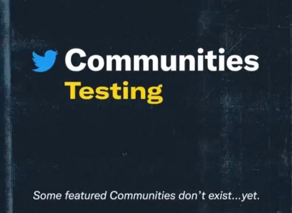 Uji coba fitur Komunitas Twitter. (Foto: Twitter).