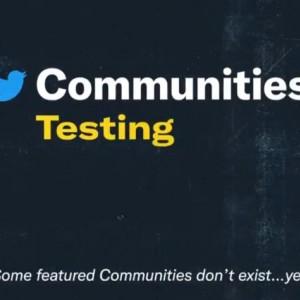 Mirip Facebook, Twitter Mulai Uji Coba Fitur Baru 'Komunitas'