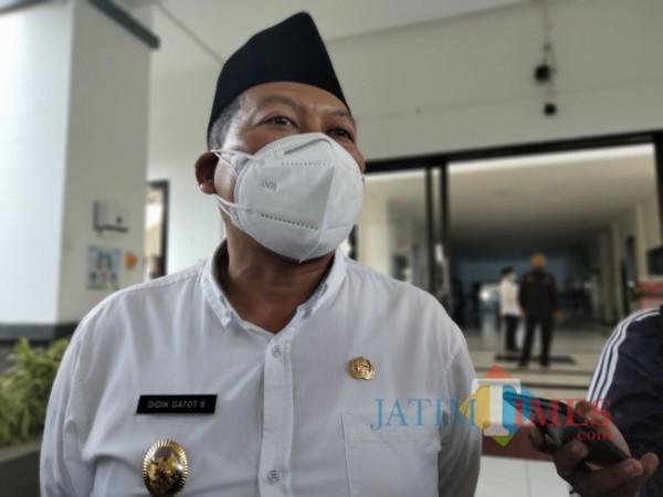 Wakil Bupati Malang, Didik Gatot Subroto.(Foto: Riski Wijaya/MalangTIMES).