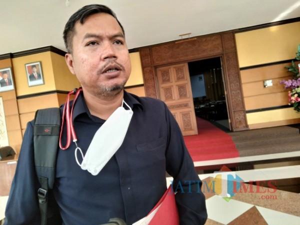 Anggota Banggar DPRD Kabupaten Malang Zia Ulhaq(Riski Wijaya/MalangTIMES)