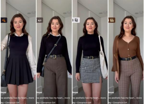 Dark Academy Style, yang cocok untuk daily outfit. (Foto: Instagram @erika.dwyer).