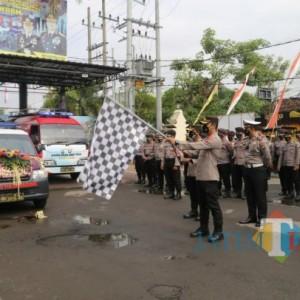 Mobil Gaspol Polres Tulungagung Siap Datang untuk Vaksinasi Covid-19 Masyarakat Wilayah Pinggiran