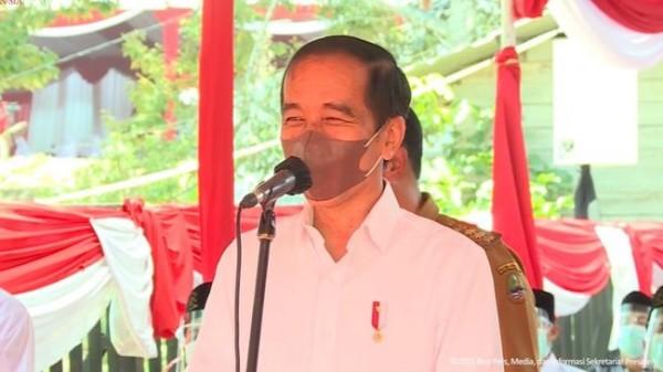 Presiden Joko Widodo (Foto: Dok Setneg)