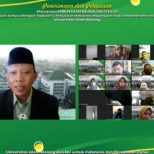 Unisma Gelar Penerimaan dan Pelepasan Mahasiswa MBKM Kemdikbud Ristek, Ini Rincian Pesertanya