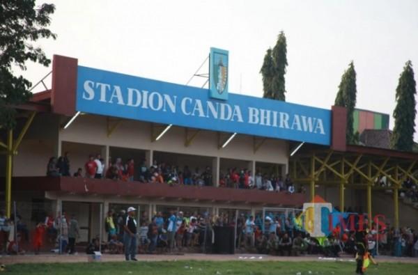 Stadion Canda Bhirawa Kabupaten Kediri. (eko arif s/Jatimtimes)