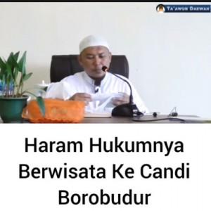 Sebut Wisata ke Borobudur Haram, Ceramah Ustaz Sofyan Chalid Kembali Bikin Geger