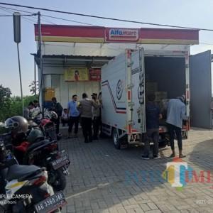 Lagi, Alfamart di Ngale Ngawi Disatroni Pencuri