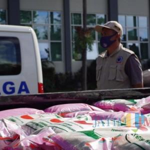15 Ton Bantuan Sosial Beras Mulai Didistribusikan Bagi Warga Rentan Pangan di Kota Batu