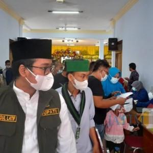 Vaksinasi Massal Terus Digalakkan, Kali ini Pemkab Gandeng Korps HMI Wati Cabang Bangkalan