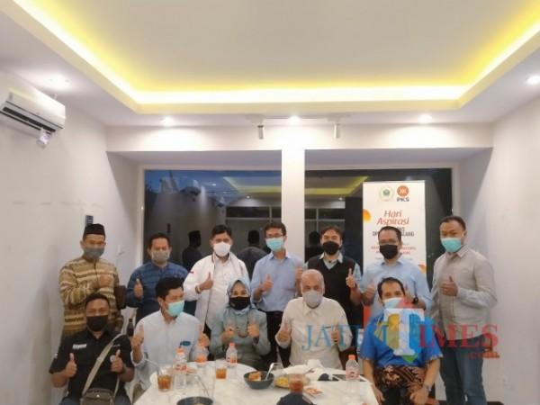 Fraksi Partai Keadilan Sejahtera (PKS) Kota Malang, bekerjasama dengan Bidang Polhukam Dewan Perwakilan Daerah (DPD) Partai Keadilan Sejahtera (PKS) Kota Malang melaksanakan Hari Aspirasi (Ist)
