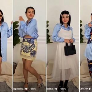 Tips Buat 4 Style Berbeda Hanya Pakai Long Sleeved Shirt, Bisa Dicontek Nih!