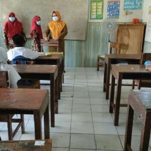 Wabup Gresik Sidak Sekolah, Pastikan PTM Sesuai Prokes