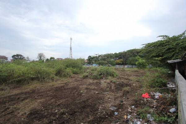 Lahan eks Pasar Merjosari yang bakal dijadikan Taman. (Foto: Istimewa).