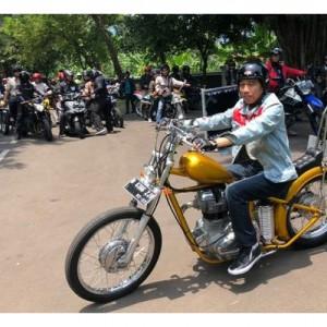 Choopperland, Motor Modifikasi Milik Jokowi yang Diduga Hilang dari LHKPN, Sempat Viral di 2018