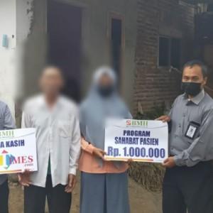 Gandeng JatimTIMES, BMH Beri Bantuan Remaja yang Alami Kelamin Ganda