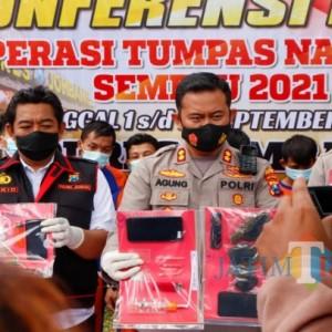 Didominasi Pengedar, 26 Budak Narkoba di Jombang Diringkus Polisi