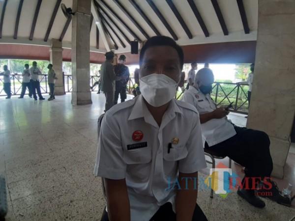 Kabid Pemeliharaan Jalan dan Jembatan DPUBM Kabupaten Malang Suwignyo.(Foto: Riski Wijaya/MalangTIMES).