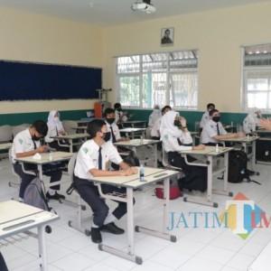 24 SMP di Kota Batu Gelar PTM, Pemantauan Ketat Dimaksimalkan