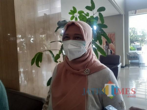 Kepala Dinas Pekerjaan Umum, Penataan Ruang Perumahan dan Kawasan Permukiman (DPUPRPKP) Kota Malang, Diah Ayu Kusuma Dewi. (Arifina Cahyanti Firdausi/MalangTIMES).