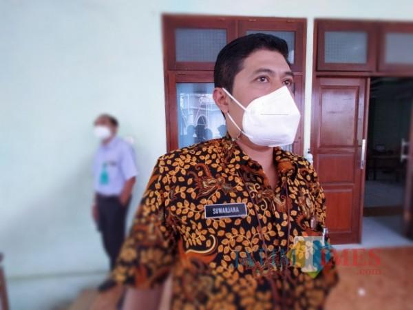 Kepala Disdikbud Kota Malang Suwarjana SE MM (Anggara Sudiongko/ MalangTIMES)