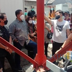 Warga Takut Kejatuhan, Komisi C DPRD Surabaya Sidak Tower Milik PT Protelindo
