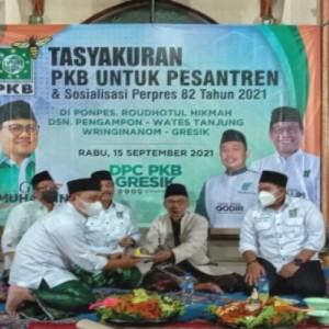 Perpres Dana Abadi Pesantren Diteken Jokowi, PKB Gresik Gelar Tasyakuran