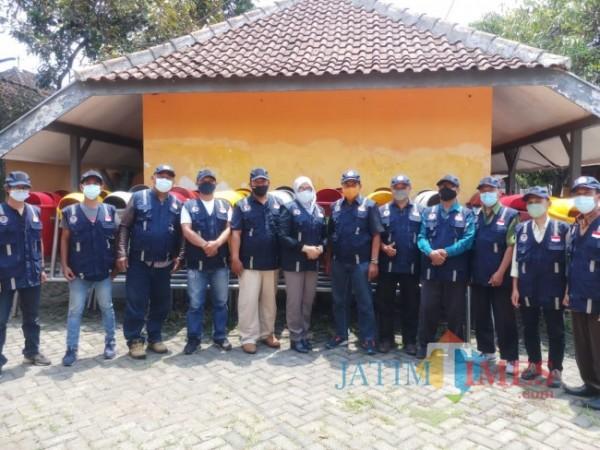 Tim juri lomba Kampung Bersinar (foto: Muslimin/MalangTIMES)