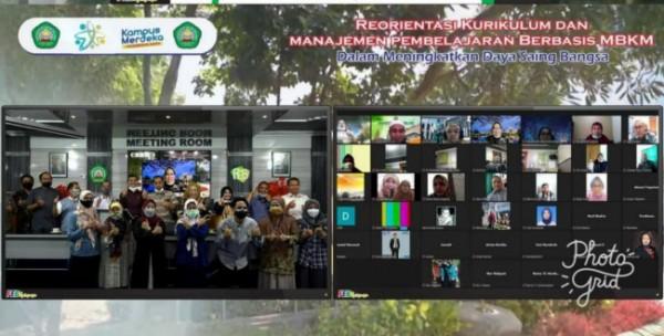 "FGD yang diselenggarakan bertajuk ""Reorientasi Kurikulum Dan Manajemen Pembelajaran Berbasis MBKM Dalam Meningkatkan Daya Saing Bangsa"" (Ist)"