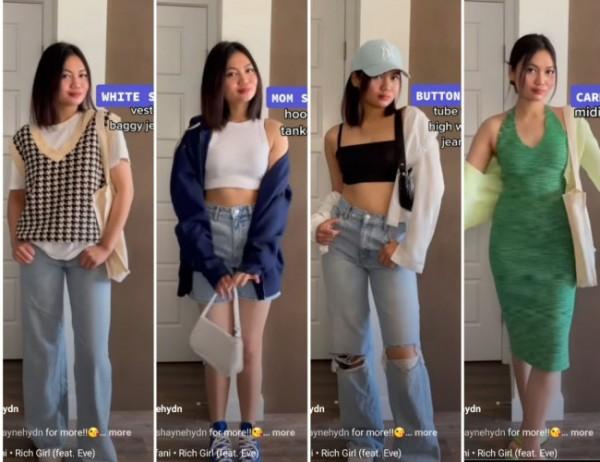Inspirasi basic clothes untuk aktivitas harian. (Foto: Instagram @shaynehydn).