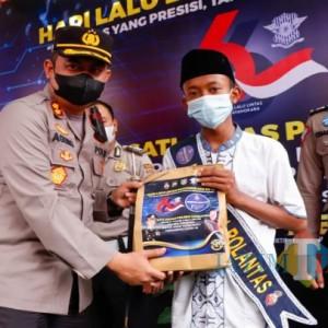 Polisi di Jombang Angkat Puluhan Anak Asuh Korban Covid-19
