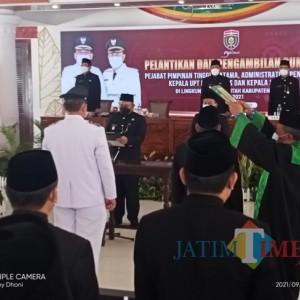 Bupati Ngawi Lantik 197 Pegawai Eselon II, III dan IV