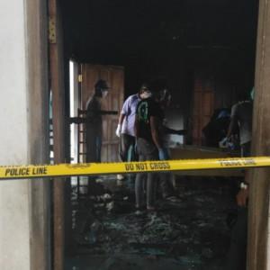 Gara-Gara Sulutan Rokok, Kakek di Ponggok Blitar Tewas Terpanggang Api