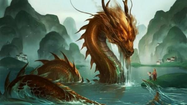 Ilustrasi ular Naga (Istimewa)