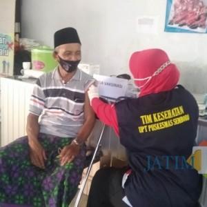 Sempat Sepi Peminat, Vaksinasi di Desa Sidomulyo Membludak