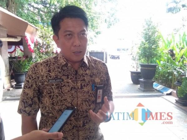 Kepala Bapenda Kabupaten Malang Made Arya Wedhantara.(Foto: Riski Wijaya/MalangTIMES).).