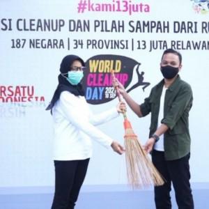 Bunda Fey: Aksi World Cleanup Day Jadi Kebiasaan Baik untuk Lebih Peduli Lingkungan