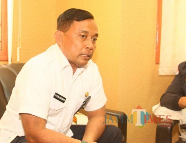 Plt Kepala Disnaker Kabupaten Malang, Yoyok Wardoyo.(Foto: Riski Wijaya/ MalangTIMES).