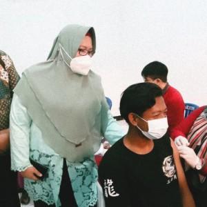 Sinergi NU dan Pemerintah Percepat Vaksinasi di Gresik