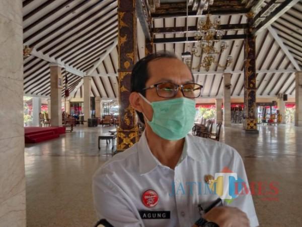 Kepala Disperindag Kabupaten Malang, Agung Purwanto.(Riski Wijaya/MalangTIMES).