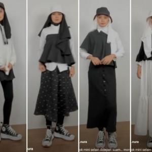 Cara Lain Pakai Rok Mini sebagai Busana yang Kece buat Hijabers