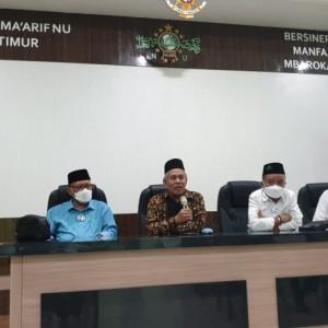Ruang Pertemuan Graha Ma'arif NU Jatim Diresmikan KH Marzuki Mustamar dengan Nama Hall KH Hasyim Latif